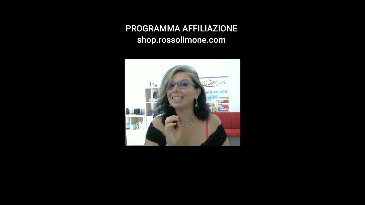 Il Programma AFFILIAZIONE dello shop di RossoLimone