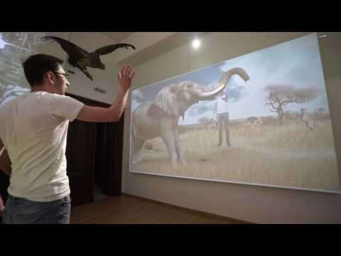 Museum augmented reality experience