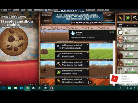 HOW TO HACK COOKIE CLICKER COOKIES AND SUGAR LUMPS *INFINITE*