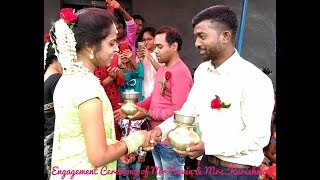 Engagement ceremony(Lota Pani) of Mr.Navin & Mrs.Karishma//Hasin-2 chehra me,romantic nagpuri song