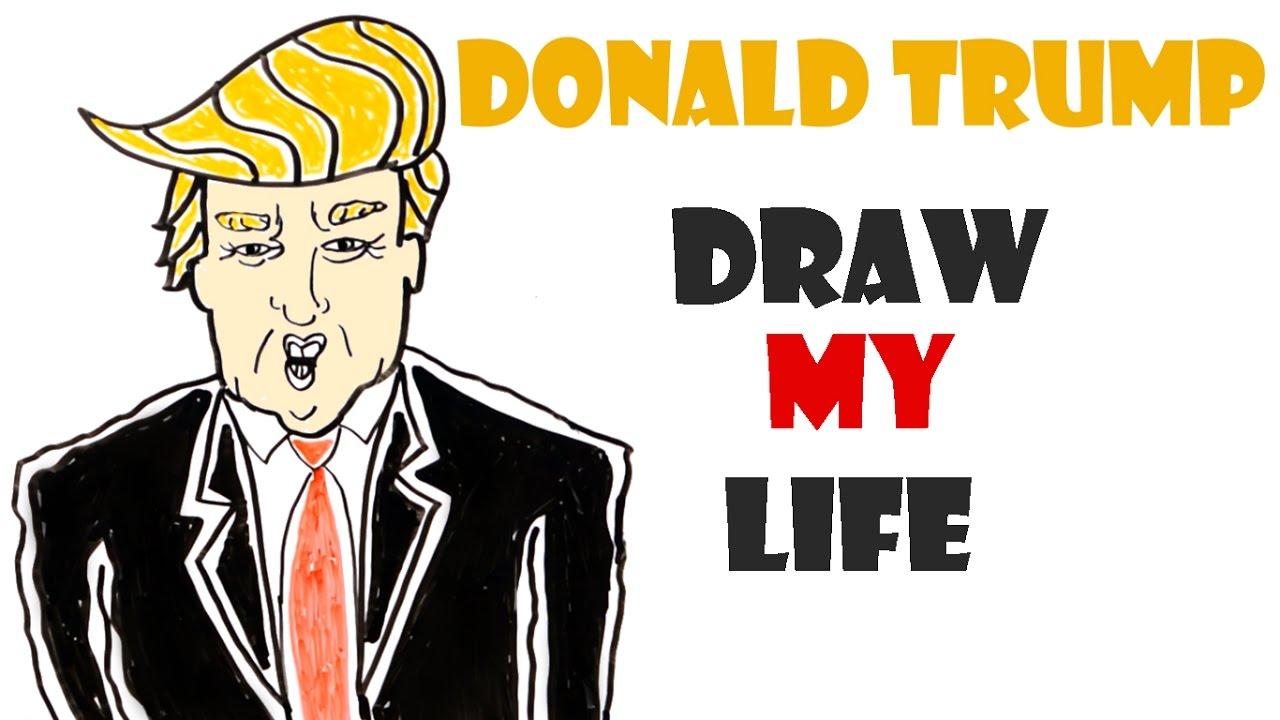 Draw My Life : Donald Trump - YouTube