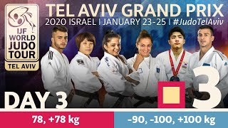 Judo Grand-Prix Tel Aviv 2020 - Day 3:  Elimination Tatami 3