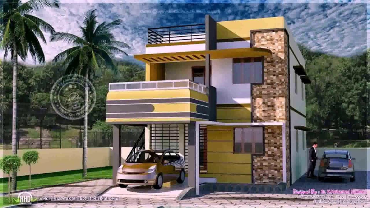 Portico Design For Small House In India