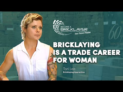 Female Bricklayer Speaks On Why Bricklaying Is A Trade Career For Women