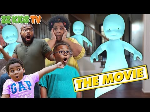 Ghost Dude The Movie! ZZ Kids TV Vacation Gone Bad!