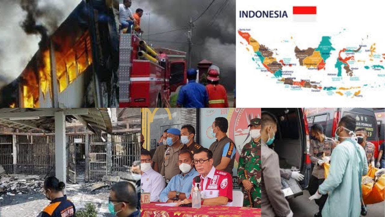 Fire at overcrowded Indonesian prison kills 41, injures dozens