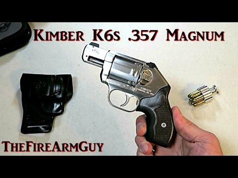 Kimber K6s with Crimson Trace Laser Grip - TheFireArmGuy