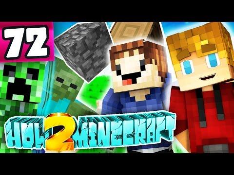 """Minecraft: How 2 Minecraft! (Season Two) """"MONSTER SCHOOL!"""" Episode 72 (Minecraft 1.8 SMP)"""