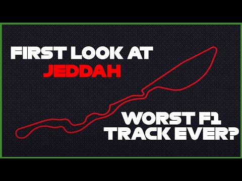 First look at the Jeddah F1 Track in Saudi Arabia. Is it that bad?