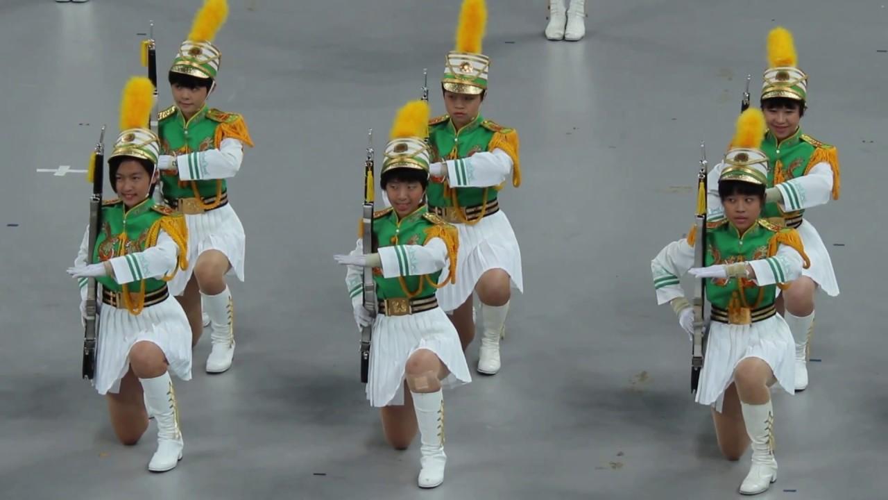 2018年4月22日台北市107年度樂儀旗觀摩表演活動 北一女儀隊