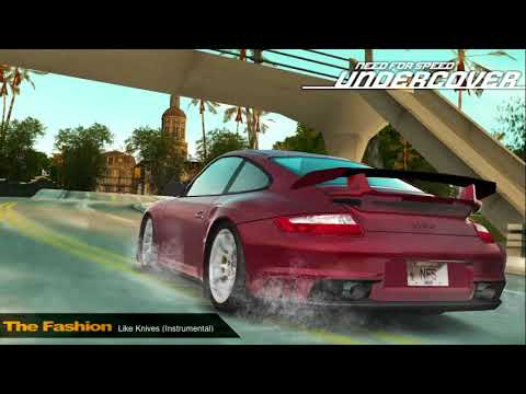 need for speed undercover ps2 wii ost the fashion. Black Bedroom Furniture Sets. Home Design Ideas