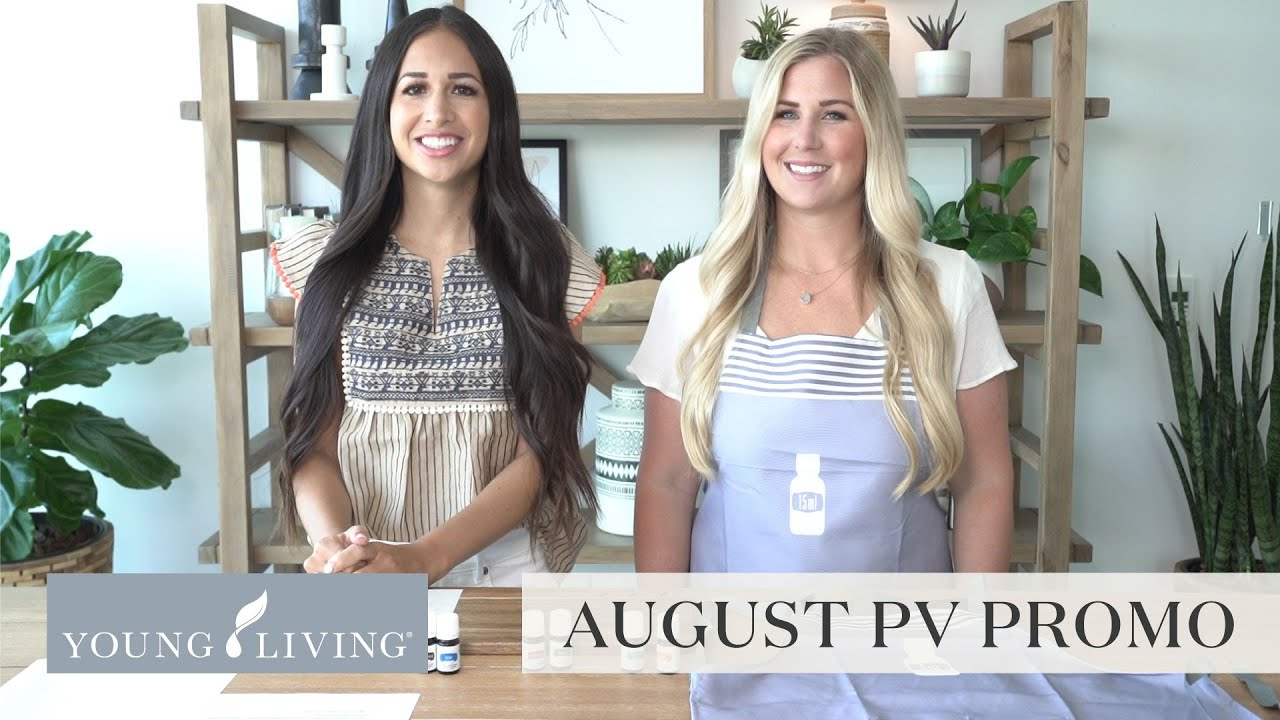 August PV Promo | Young Living Essential Oils