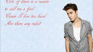 Die in Your Arms- Justin Bieber Lyrics