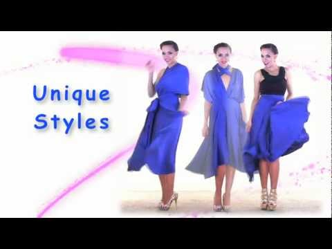 27-ways-to-wear-1-dress-in-7-minutes!-convertible-twist-wrap-dress