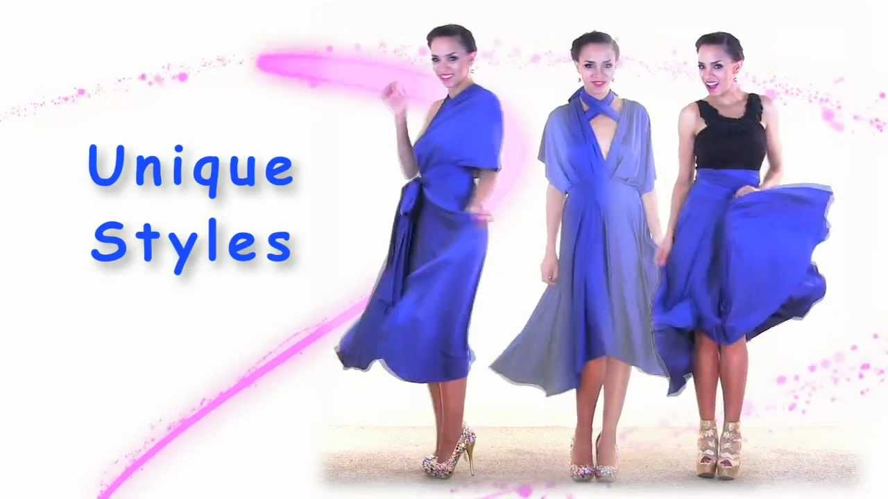 27 ways to wear 1 dress in 7 minutes convertible twist wrap dress 27 ways to wear 1 dress in 7 minutes convertible twist wrap dress youtube ombrellifo Choice Image