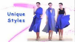 27 Ways to Wear 1 Dress in 7 Minutes! Convertible Twist Wrap Dress