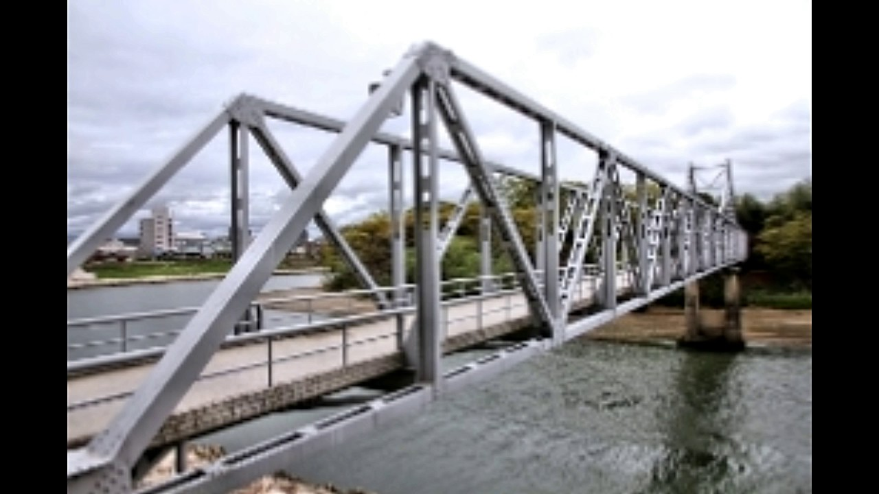 Truss bridge types youtube for Where to buy trusses