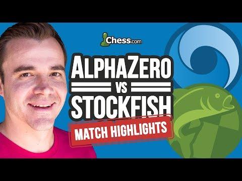 AlphaZero vs Stockfish Chess Match Highlights by IM Danny Rensch