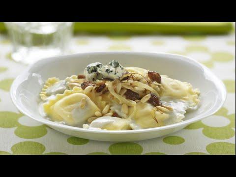 Ripieni cremosi ravioli de gorgonzola y almendra – Recetas Buitoni