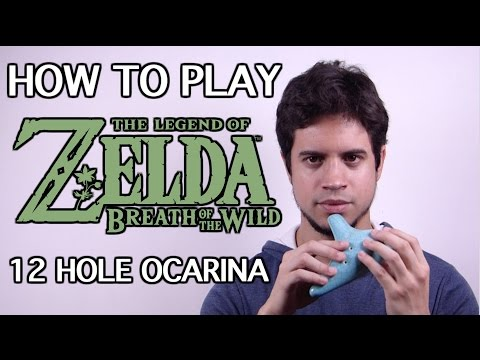 Ocarina Tutorial: Zelda Breath of the Wild Theme  12 Hole Ocarina