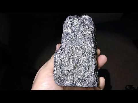 Mystery. What is it? Crystalline Platinum Iridium Rhodium Space Metal Nugget?