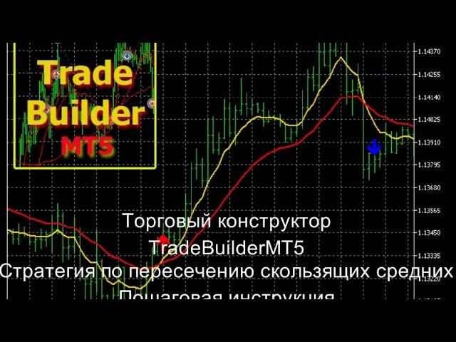 Торговый конструктор TradeBuilder. Пошаговый урок