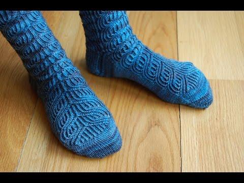 Como hacer calcetines de lana con dos agujas youtube - Como hacer talon de calcetines de lana ...