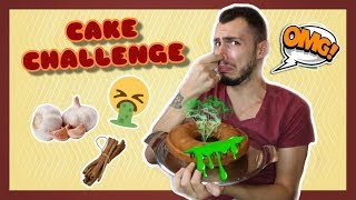 CAKE CHALLENGE (ΑΗΔΙΑ) | Tsede The Real
