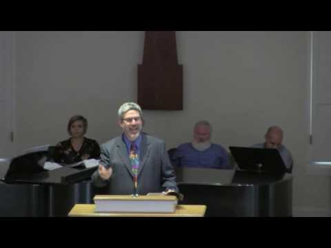 King University Chapel September 28 - Dr. Dave Welch
