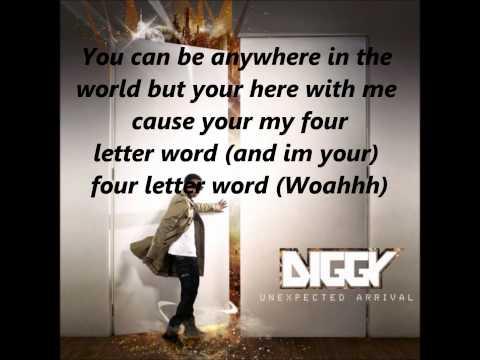 Diggy-Four Letter Word(Lyrics On Screen)