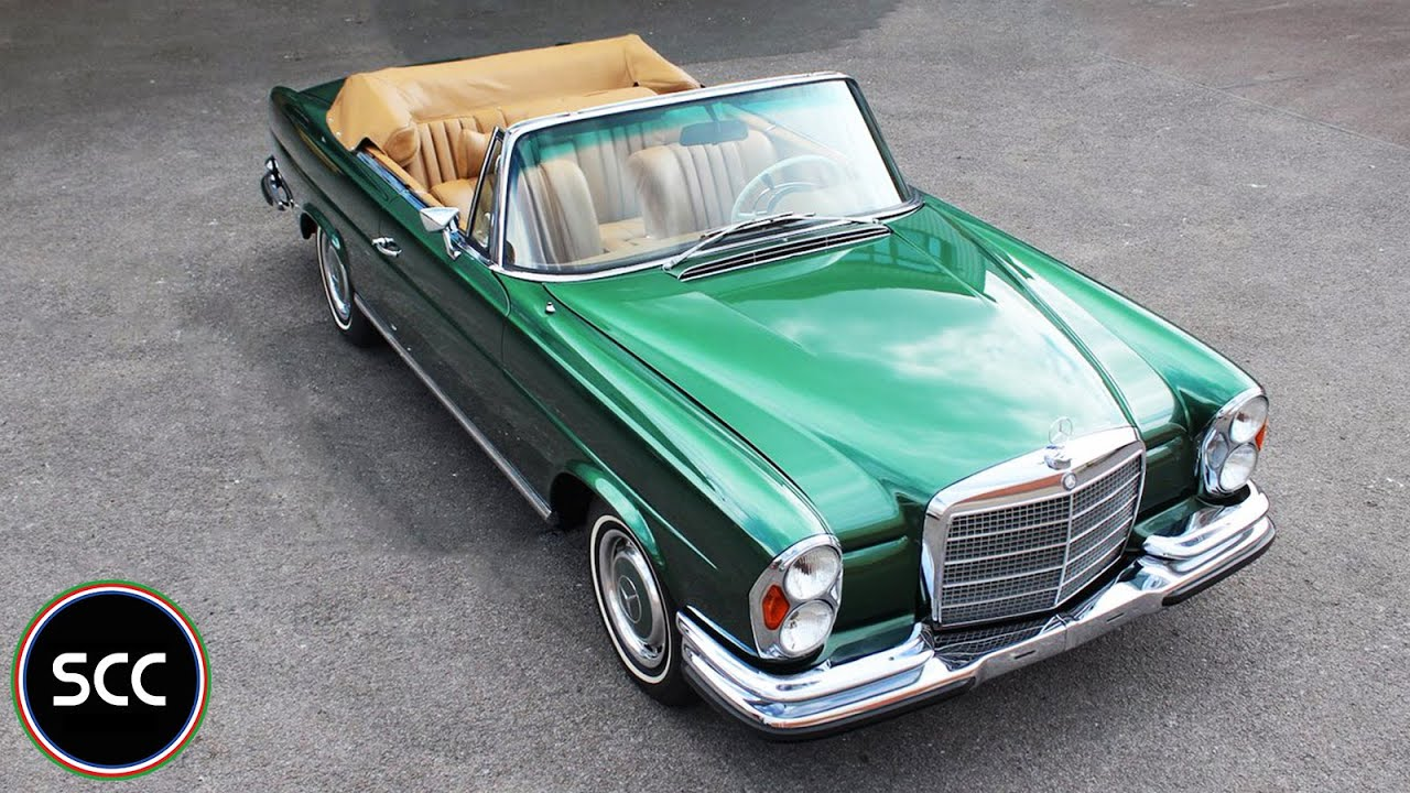 mercedes benz 280 se 3 5 convertible 1971 modest test drive engine sound scc tv youtube. Black Bedroom Furniture Sets. Home Design Ideas