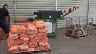 Automat rozpałkowy maszyna do produkcji rozpałki - R-250 - ROLTRAC