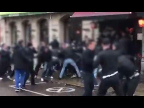 IFK Goteborg - AIK Stockholm Wisemen attack Firman Boys Pub full version