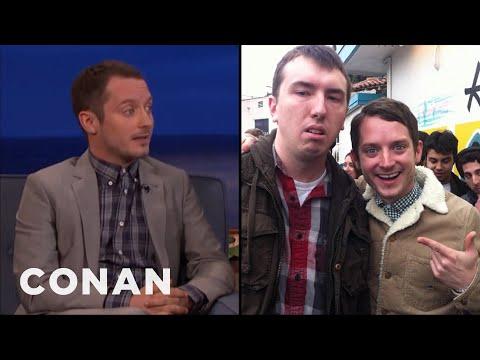 Elijah Wood Takes The Best Fan Photos  - CONAN on TBS