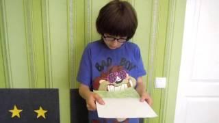 Английский язык - 4 год обучения (дети 10-11 лет). Назар и его проект.