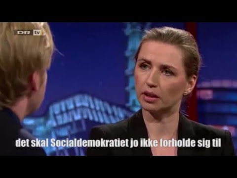 Clement Kjersgaard VS Mette Frederiksen
