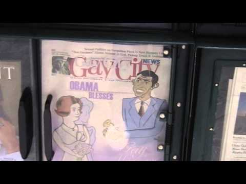Gay City Newspaper in New York, Manhattan