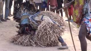 Mask Glah dances in the Village of Ziah
