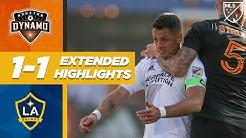 LA Galaxy vs. Houston Dynamo | Chicharito's Debut! | MLS EXTENDED HIGHLIGHTS