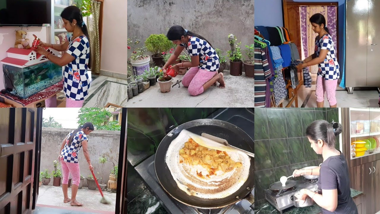 🙇♀️ मरने के बाद ही इसे 🤦♀️छुटकारा पा सकते है हम😔 / Indian housewife's daily 🌄morning Routine ....