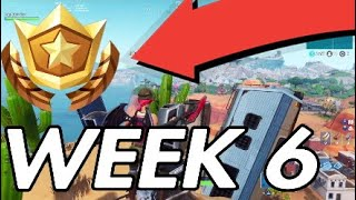 FORTNITE SECRET BATTLESTAR LOCATION WEEK 6 SEASON 7