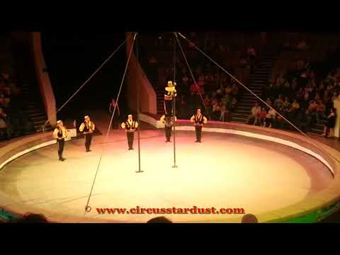 Circus Stardust Agency Presents: High Wire and Chinese Pole Act (Circus Act 01338)