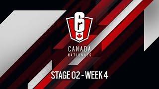 Rainbow Six Siege: LIVESTREAM Canada Nationals - Year Two   Stage 2 - Week 4   Ubisoft [NA]