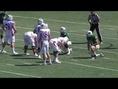 Larson Graham Duquesne Football vs Jacksonville University 2016