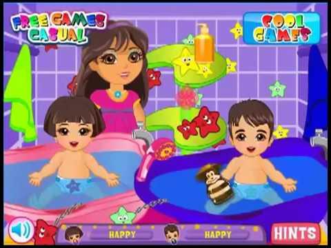 Barbie Twins Babysitter Games