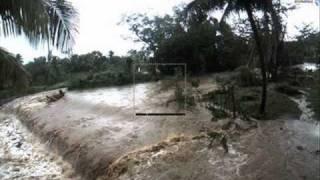 inondation , La Martinique sous les eaux ce matin mardi 5 mai 2009..