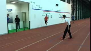 František Jiroušek Hvězda SKP Pardubice cíl 300 metrů Jablonec 24_2_2016