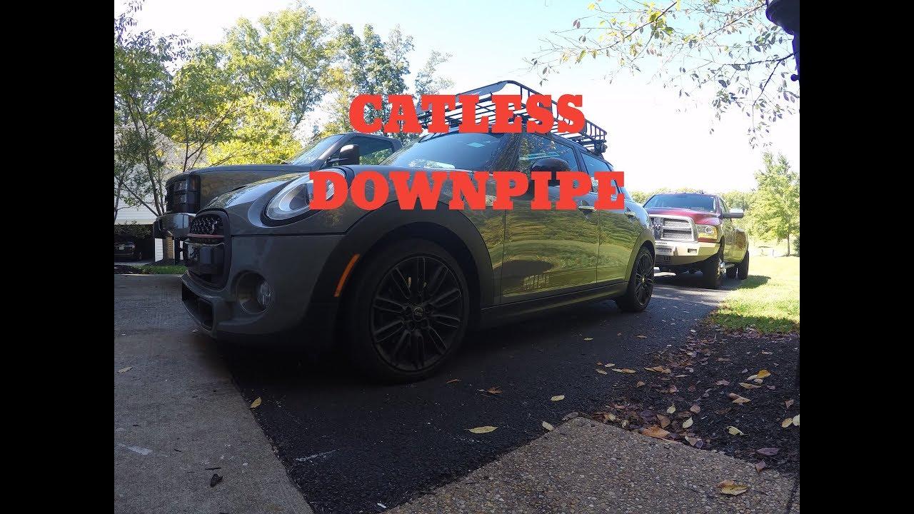 Mini Cooper S F56f55 Diy Downpipe Install Youtube