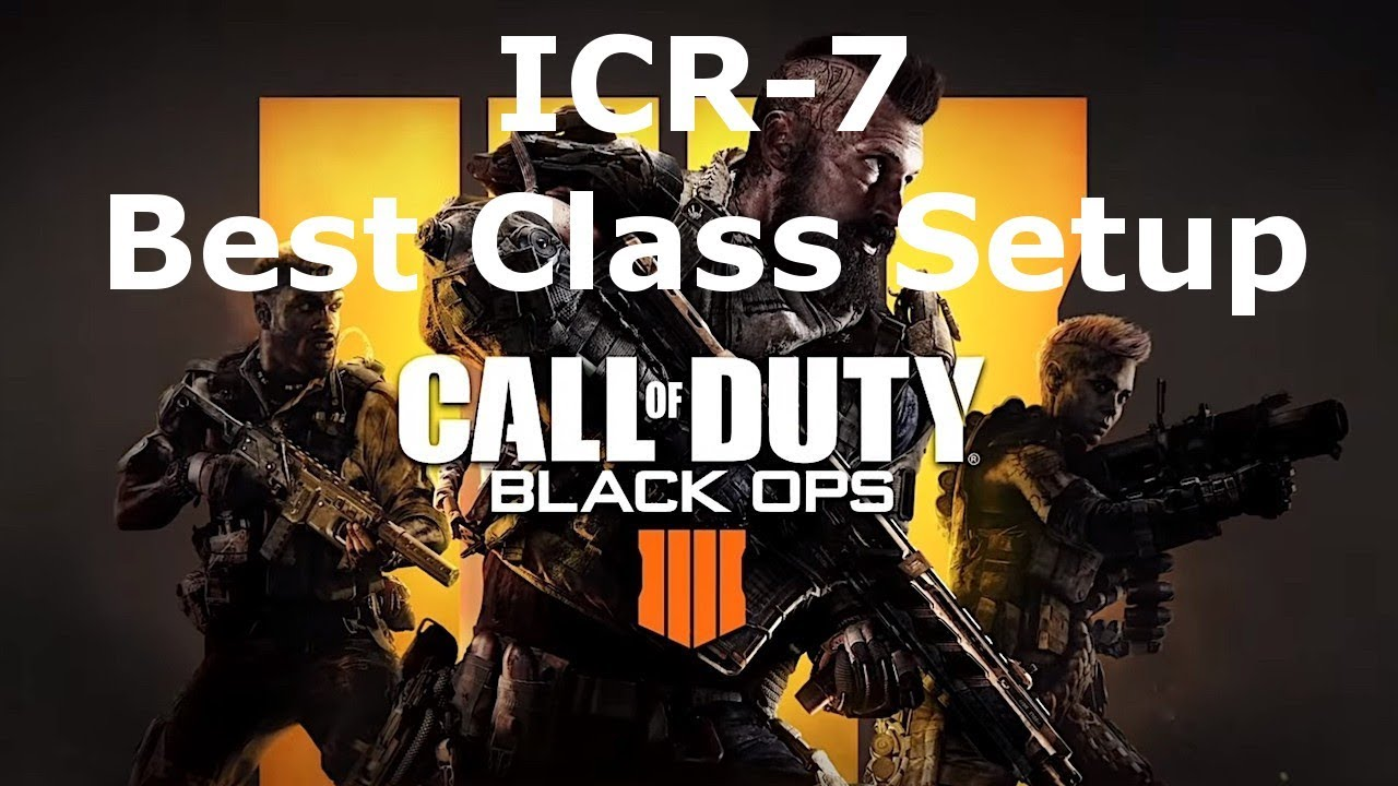 ICR-7 Assault Rifle Best Class Setup Weapon Guide Call of Duty Black