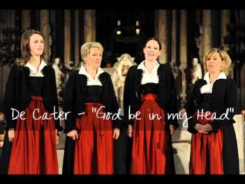 """De Cater - """"God be in my Head"""" by John Rutter [LIVE in Kastelruth]"""